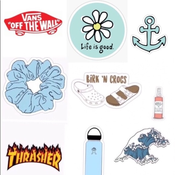 Lucrative image with printable vsco stickers